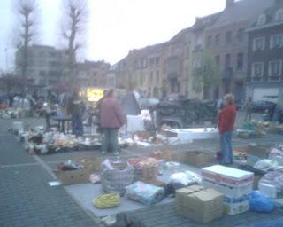 Oude markt aan het station in LokerenOude markt aan het station in Lokeren