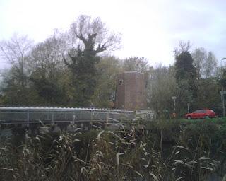 Leie arm bij de molen De Grutto aan de Bourgoyen Ossemeersen