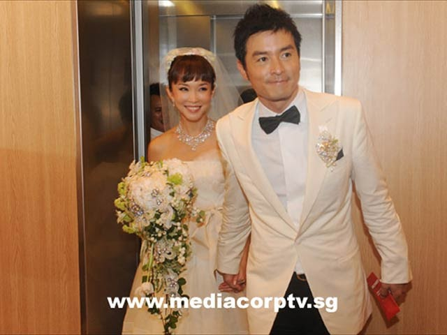 "StarsBuz: Fann Wong and Christopher Lee's ""wedding of the ..."
