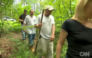 team Ghost story in Duffys Cut mass grave, Pennsylvania