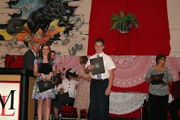 Jackson's 8th Grade Graduation