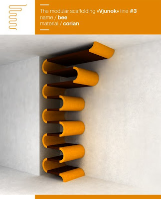 Maria Yasko Bookshelf Orange