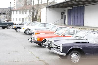 Prague - Vintage Mercedes