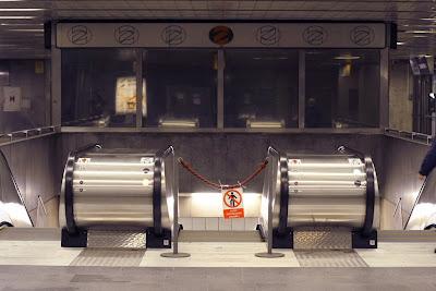 Prague - Mustek metro station