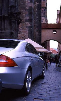 Prague - Mercedes at Old Town