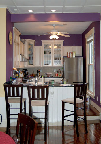 Brincando de decoradora roxo na decora o What color can i paint my kitchen cabinets
