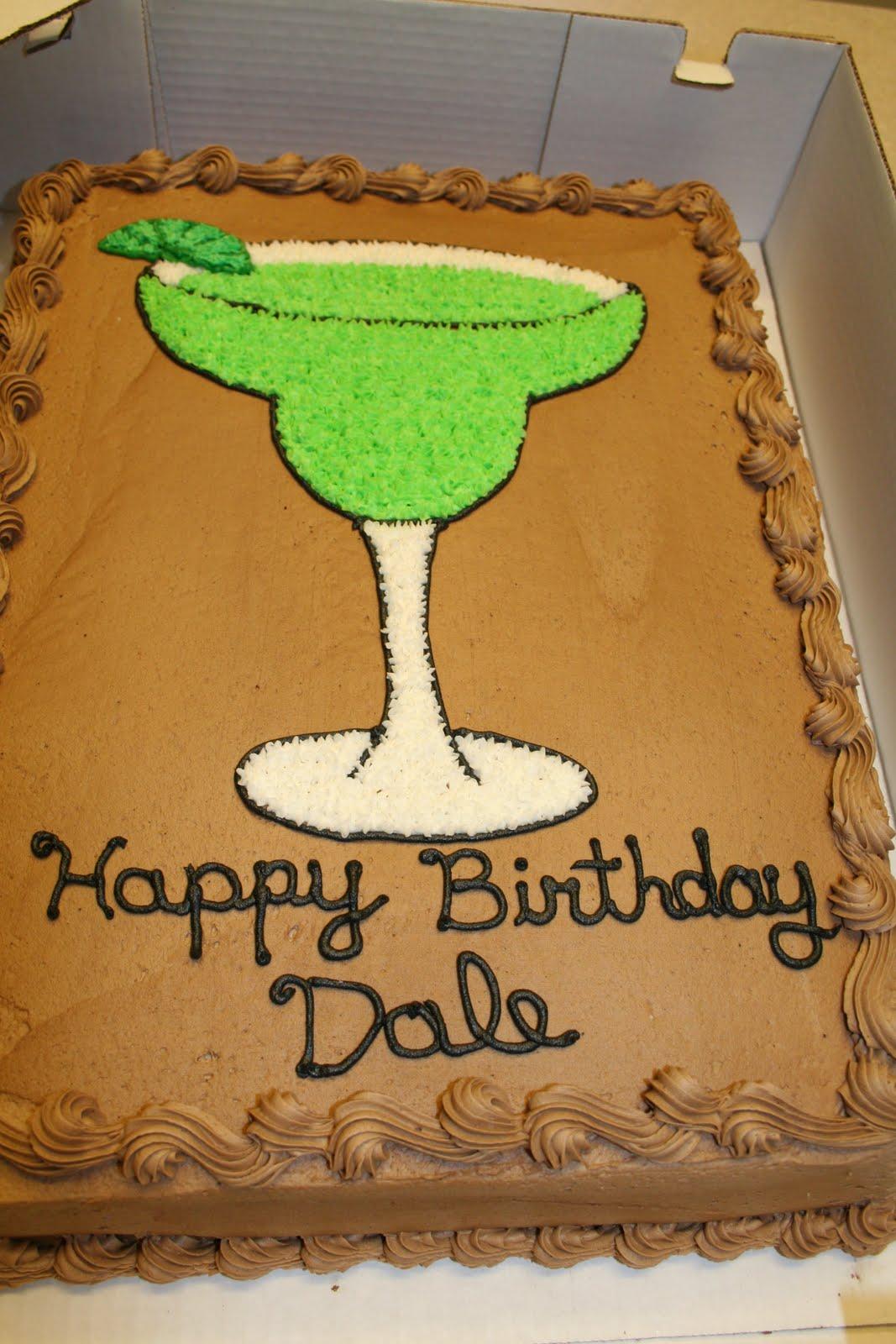 Rachels Creative Cakes Margarita Glass Creation
