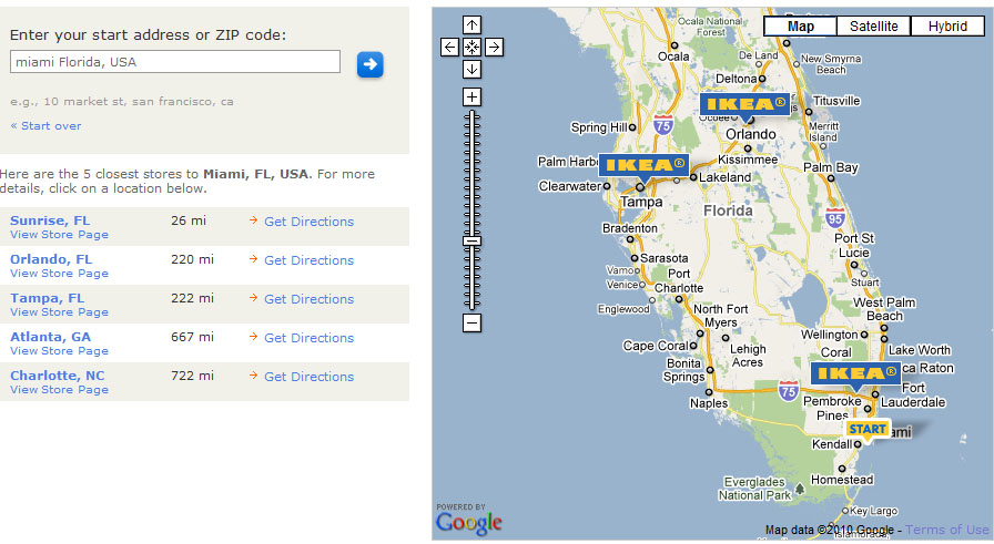 ikea location in florida