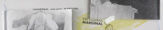 UNIVERSAL even after MARGINAL