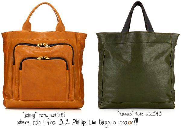 where can i find phillip lim bags in london?!