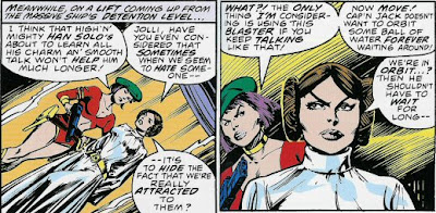 Jolli remembered to put on her gold dominatrix choker between these two panels.
