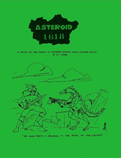 Asteroid 1618 Very Limited Edition cover