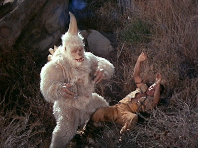 Did anybody else think the Ape, White in D&D was one of these guys back when they were a kid?  Or was that just me?