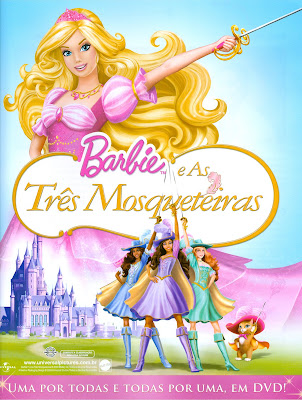 Barbie e as Três Mosqueteiras and the Three Musketeers