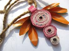 Myth Eco Paper Necklace