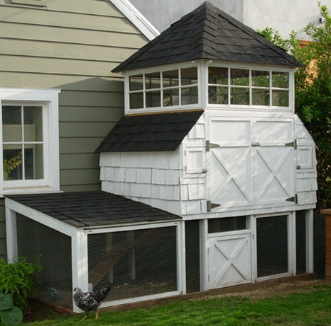 Homestead revival urban chicks for Cute chicken coop ideas