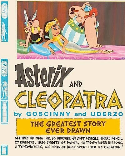 asterix and obelix meet cleopatra summary story