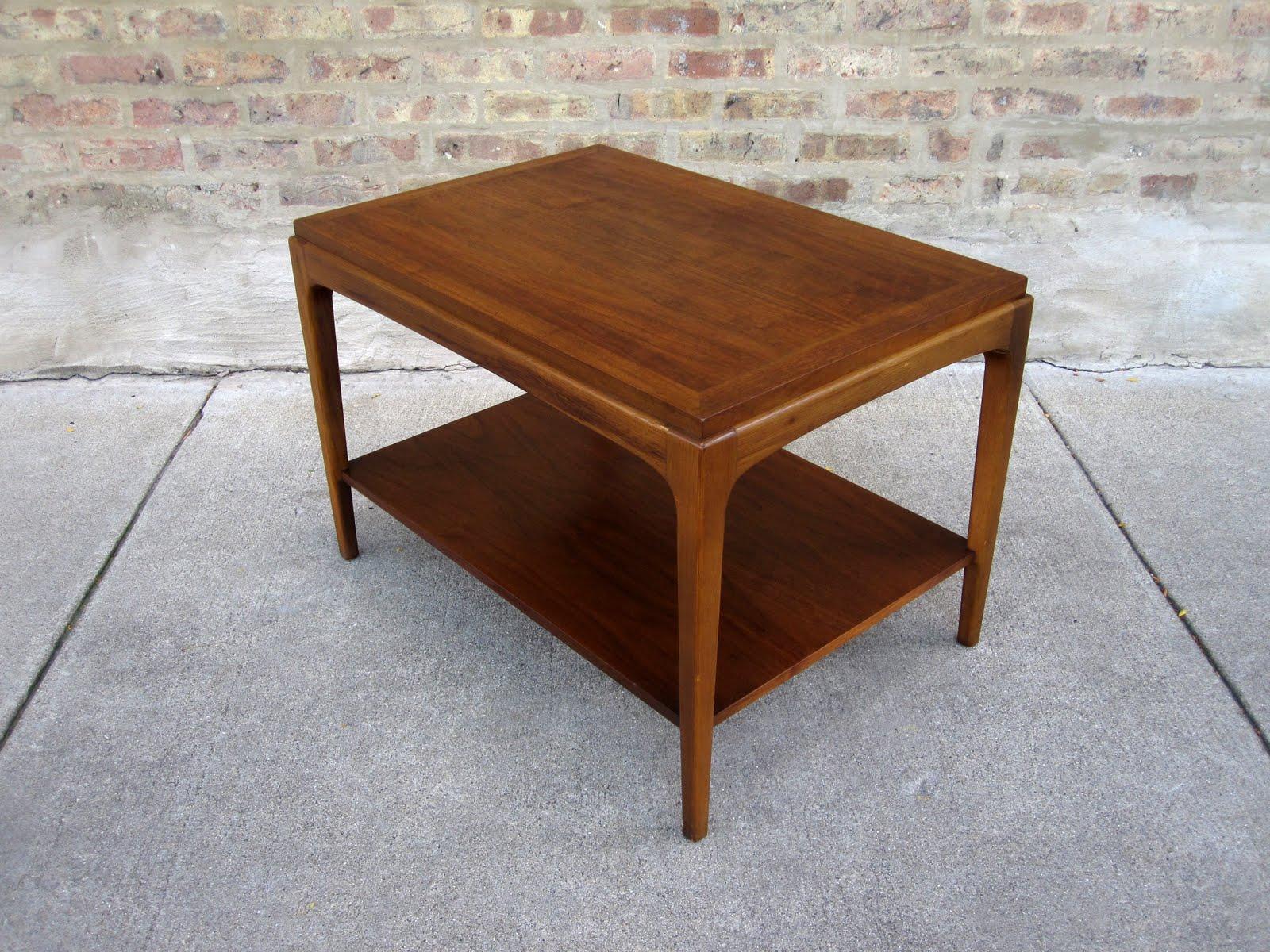 U0027laneu0027 Walnut Side Table