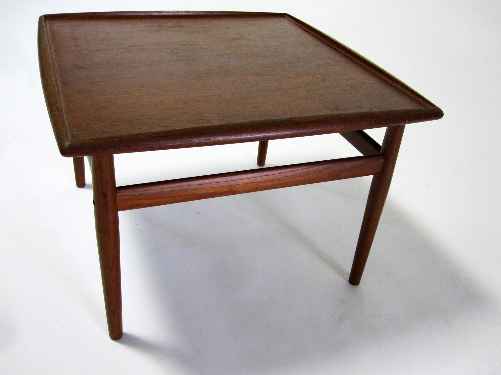 Circa Midcentury Danish Modern Side Or Coffee Table