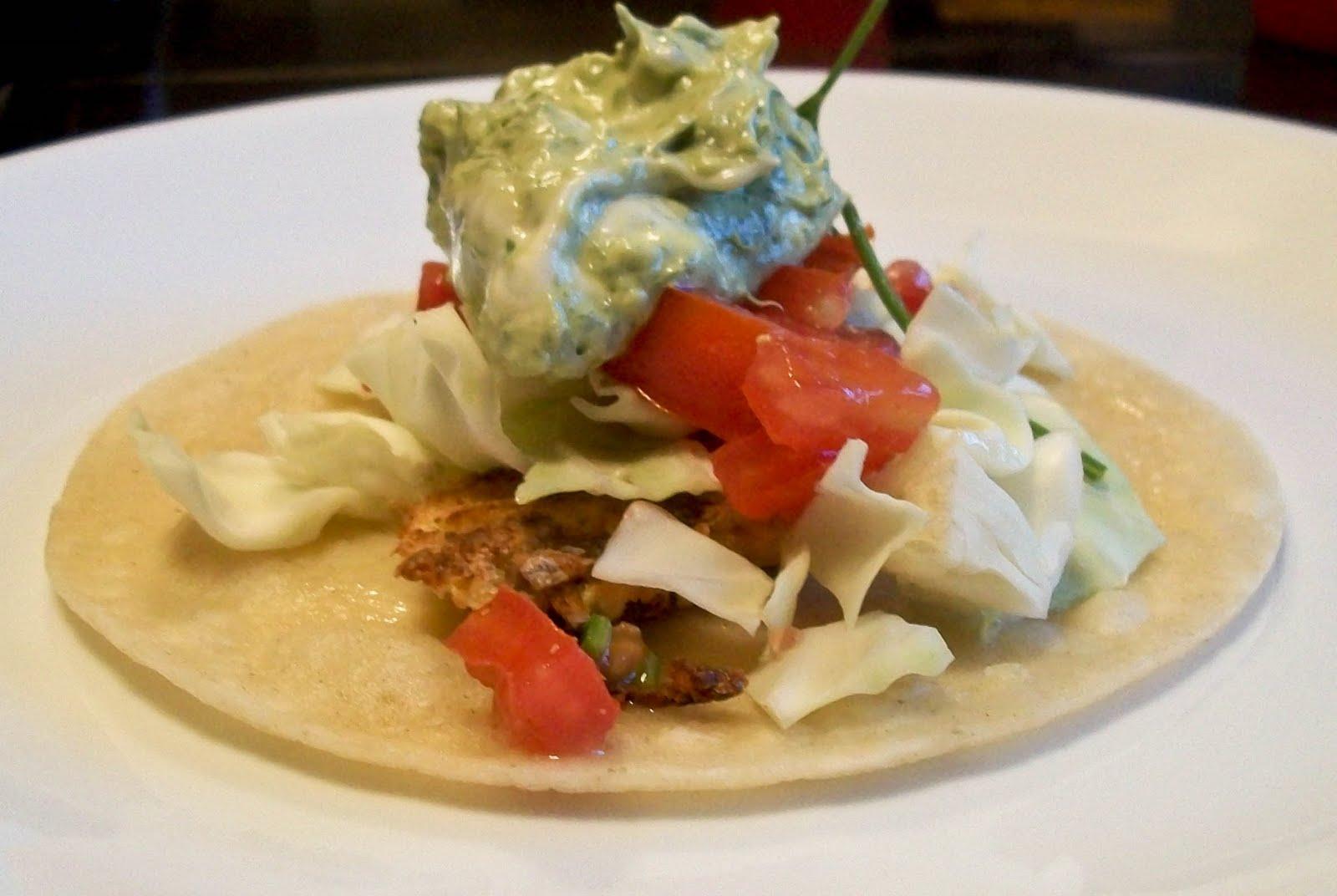 The farm girl recipes halibut tacos for Halibut fish tacos