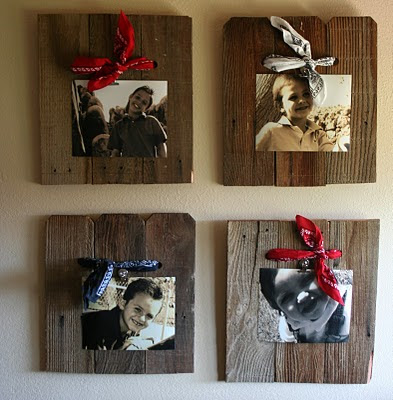 Someday crafts weathered wood picture frames and bench for Old barn wood craft projects