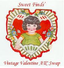 Vintage Valentine ATC Swap