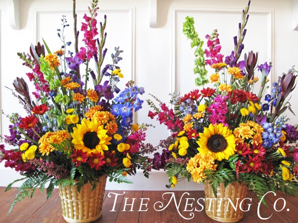 The nesting company flower arrangements and plants