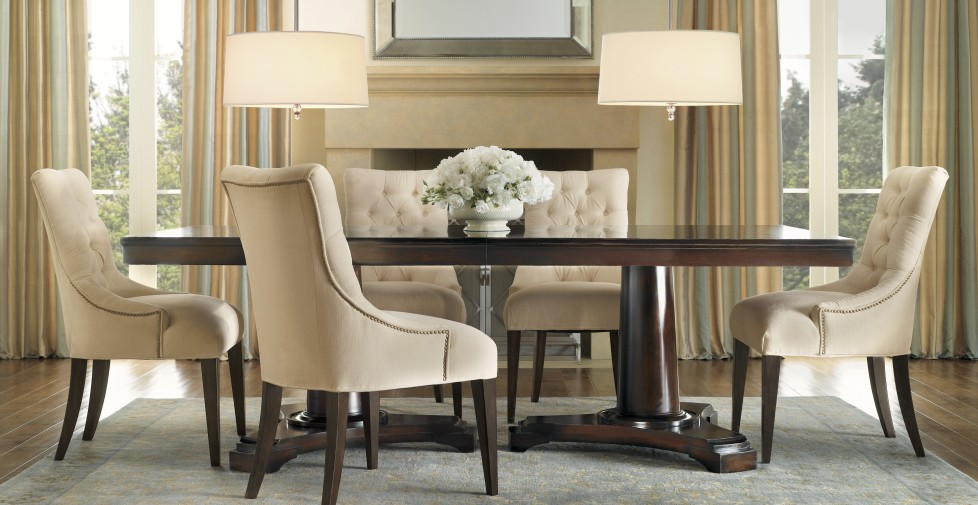 dining table restoration hardware portman dining table