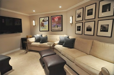 Contemporary Home Theater Design on Eltipotonto Design Gallery  Home Theater Design