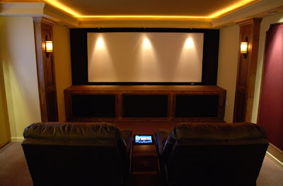 basement diy theater home design ideas