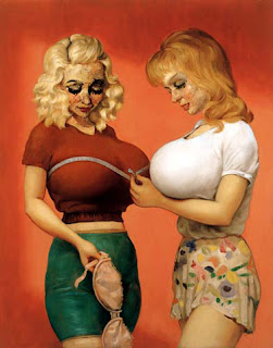 boobs art big women with
