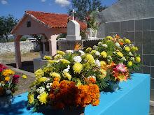Día de Muertos en cementerios