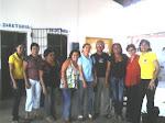 Professores e coordenadora pedagógica Jucilene (matutino) e diretora Margarida dos santos Cardoso