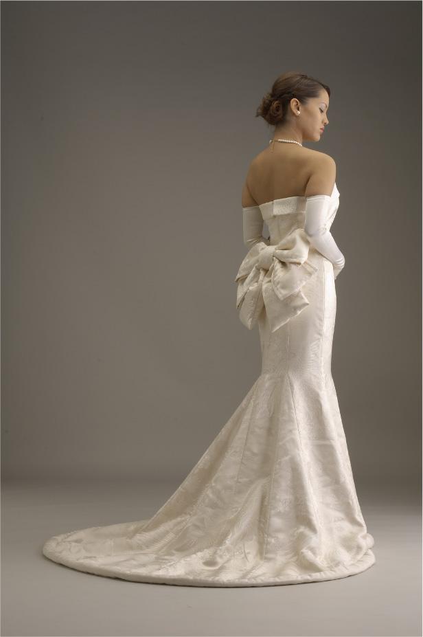 mis vestidos de novia: novias exoticas: novia japonesa occidental