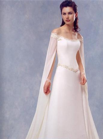 Vestidos novia medieval madrid
