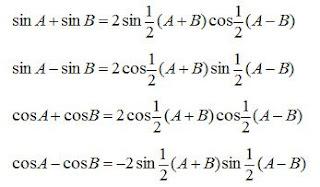 Kumpulan Rumus Trigonometri Dan Harga Sin Cos Tan I D D A ╚