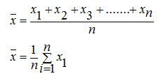 Rumus Matematika Untuk Mean, Median dan Modus dan contoh soalnya.