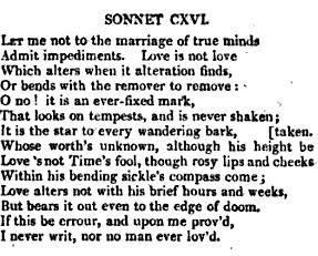 Sonnet CXVI