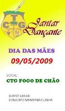 JANTAR DANÇANTE DIA DAS MÃES (09/05/2009)