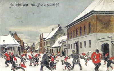 Julehilsen fra Store Heddinge - klik for større billede