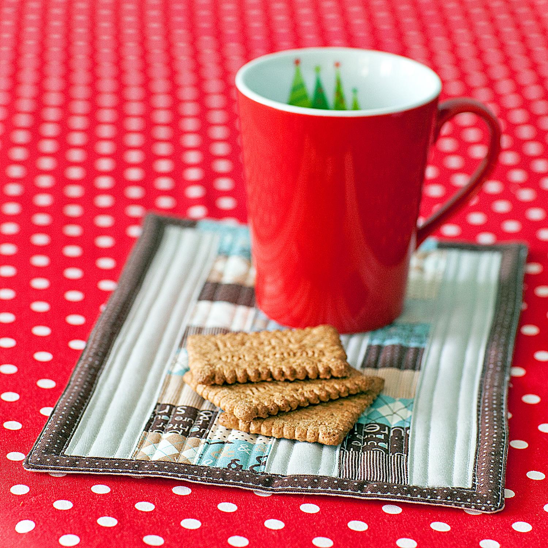 Little Girl Quilts: Mug Rug