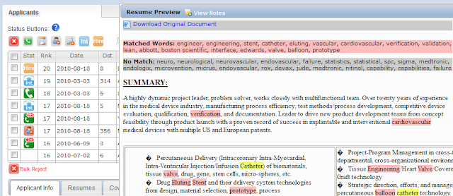 Is resume keyword counting an accurate means of evaluating talent ...