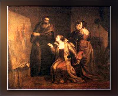Jacopo D'Andrea - Tiziano Vecellio ed Irene da Spilimbergo (1856)