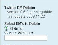 Cara Cepat Menghapus Direct Message Pada Twitter