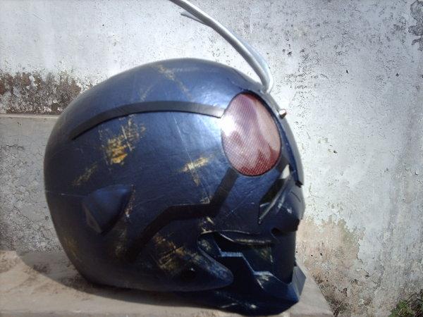 Cara Membuat Helm KAMEN RIDER dari Kertas [+Pict]UPDATE!!