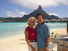 Sherri and Bryan in Bora Bora