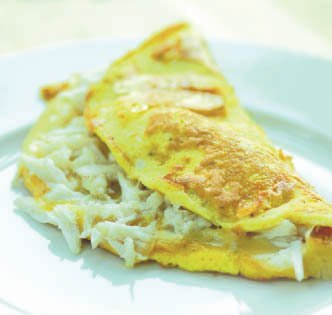 Crab Omelet | EASY HEALTHY COOKING TIPS