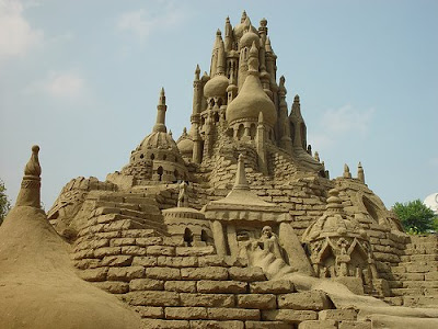 Big Castle - Sand Art