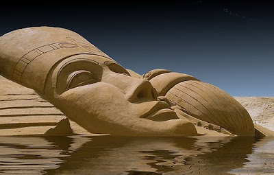 Egyptian Pharao - Sand Art