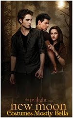 New Moon Costumes Mostly Bella